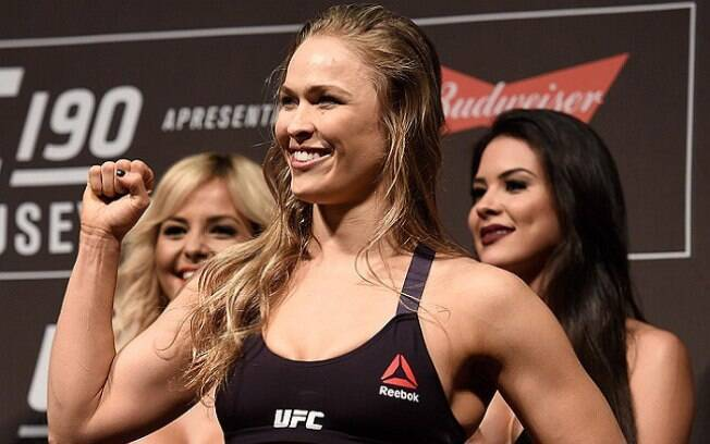 Ronda Rousey é uma das maiores estrelas do MMA, mas agora está no WWE