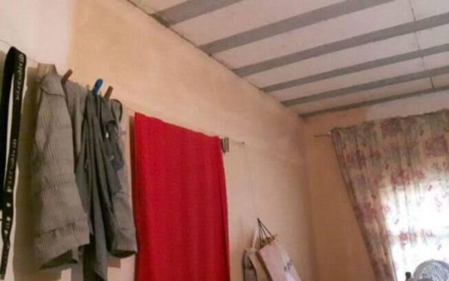 Cômodos da casa estavam cobertos por mofo