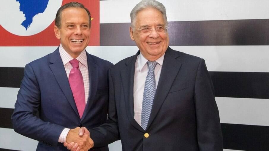 FHC e João Doria