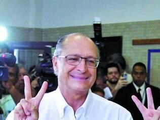 Promessa.Com vitória do partido em SP e derrota em MG, Alckmin ganha espaço