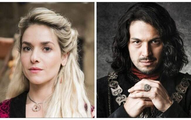 Monique Alfradique (Glória) e Rômulo Estrela (Afonso) não surpreenderam, mas também não colocaram em cheque a sua atuação em