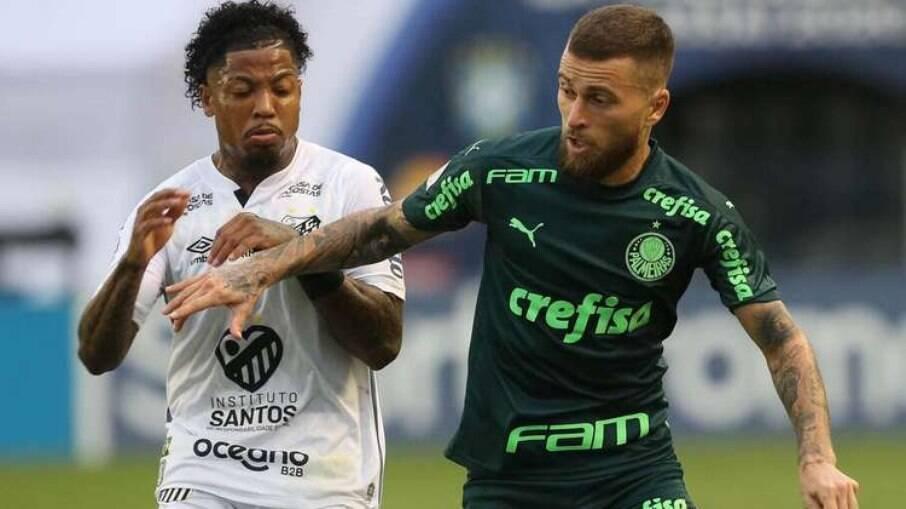 Palmeiras e Santos fazem a final da Libertadores no próximo dia 30, no Maracanã