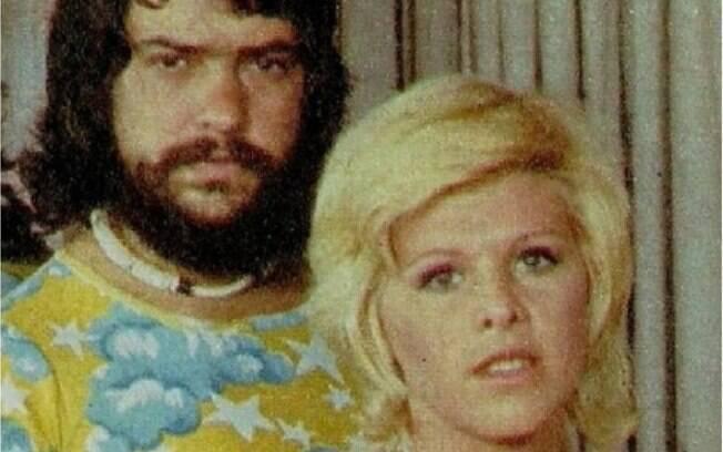 Vanusa e seu ex-marido, Antonio Marcos