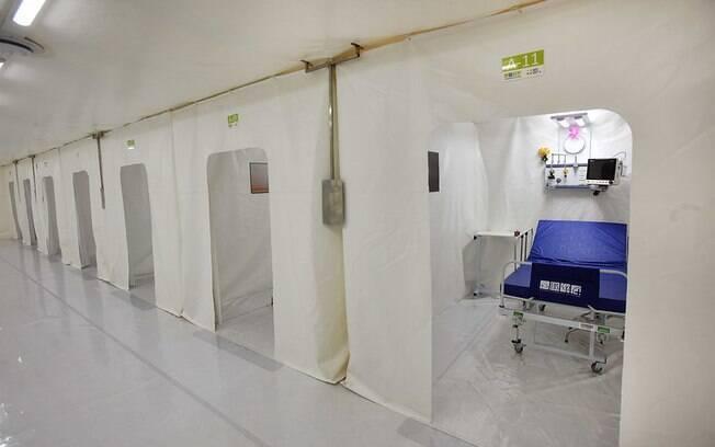 Hospital de Campanha foi desativado em agosto.