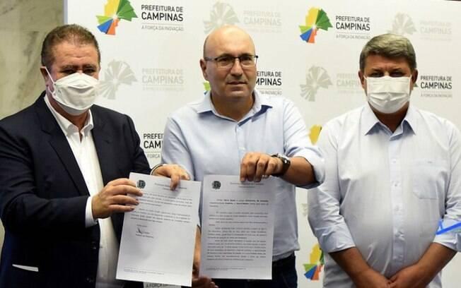 Acompanhe a cerimnia de transmisso de cargo  Prefeitura de Campinas