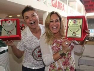 David Brasil e Susana Vieira são amigos há anos