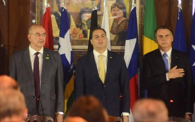 Presidente Jair Bolsonaro fez sua primeira visita oficial ao nordeste