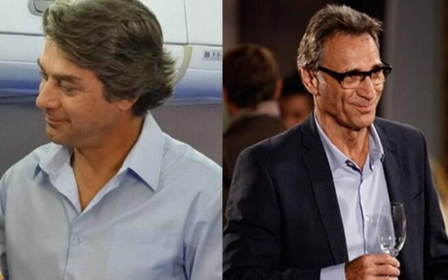 O piloto de avião Ricardo na segunda fase foi interpretado por Beto Nasci e na atual é vivido por Herson Capri