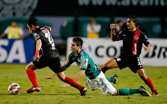 Marcelo Oliveira é desarmado em ataque do  Palmeiras