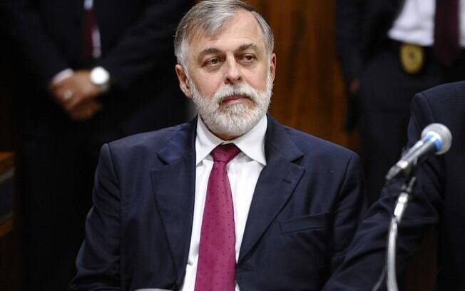 O ex-diretor de abastecimento da Petrobras Paulo Roberto Costa durante a acareação desta terça. Foto: Jefferson Rudy/Agência Senado
