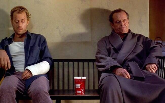 Em 'Melhor é Impossível' Greg Kinnear interpreta o artista Simon que após ser espancado se vê obrigado a pedir ajuda para o rabugento vizinho vivido por Nicholson