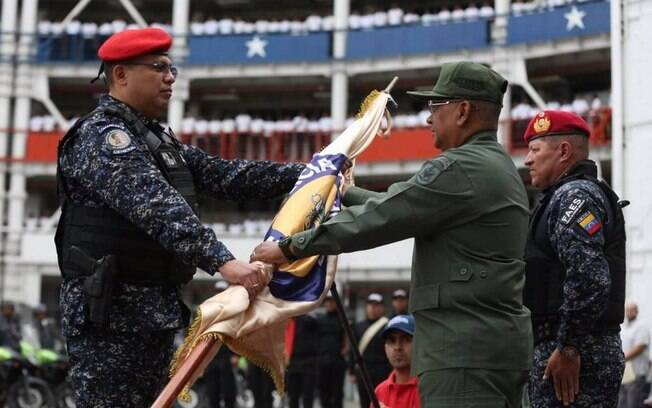 Maduro anunciou que o general Elio Estrada Paredes é o novo diretor da Polícia Nacional