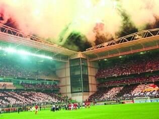 Caldeirão do Horto. Como em 2013 e 2014, torcida do Galo vai lotar a Arena Independência nesta noite para torcer e empurrar o time alvinegro rumo à primeira vitória nesta edição da Copa Libertadores
