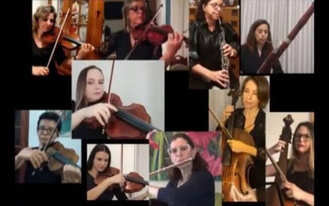 Sinfônica de Campinas faz homenagem a Dia das Mães com vídeo de