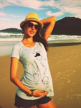 Alessandra Ambrosio: à espera de um menino