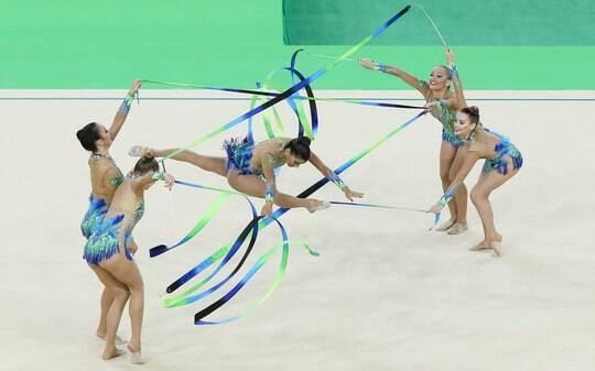 feeef445e Brasileiras não avançam à final da ginástica rítmica - Olimpíadas - iG