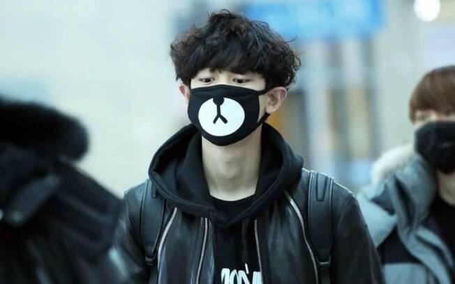 Coreano de máscara
