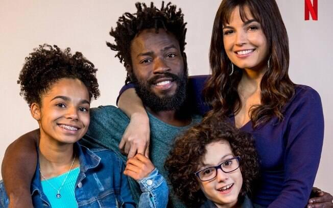 O elenco da série da Netflix Samantha! Terceira produção nacional do streaming, conta com atores sem vínculo com a Globo