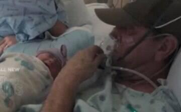 Parto é antecipado para que pai em fase terminal de câncer conheça a filha