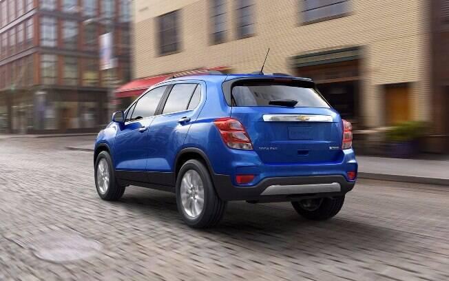 O Chevrolet Tracker terá duas motorizações: 1.8 de 144 cv e 1.4 turbo de 153 cv, este último vindo do novo Cruze.