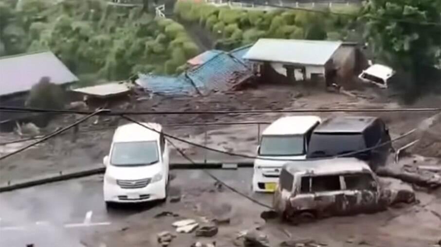 Japão sofreu com enchentes nos últimos dias