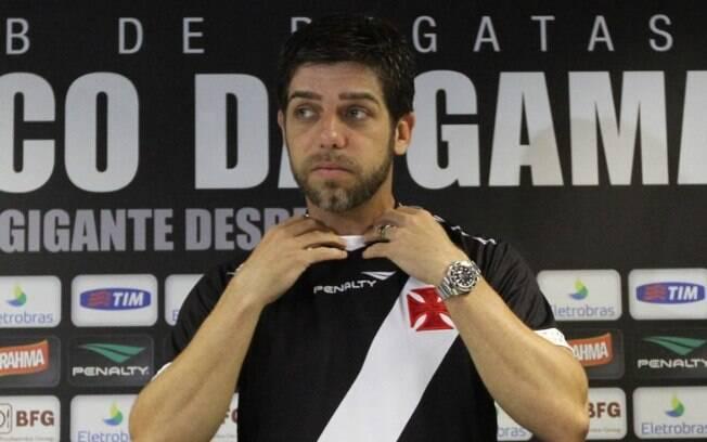 Juninho Pernambucano: principal símbolo da  retomada do Vasco