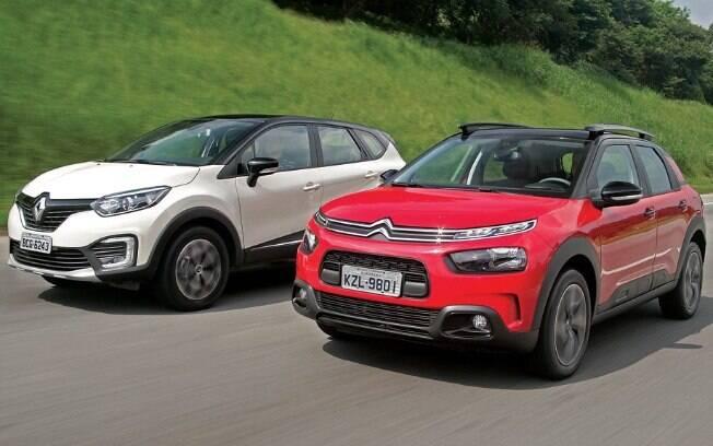 Citroën C4 Cactus e Renault Captur: Franceses revelam a outra leitura de design e utilidade para o segmento