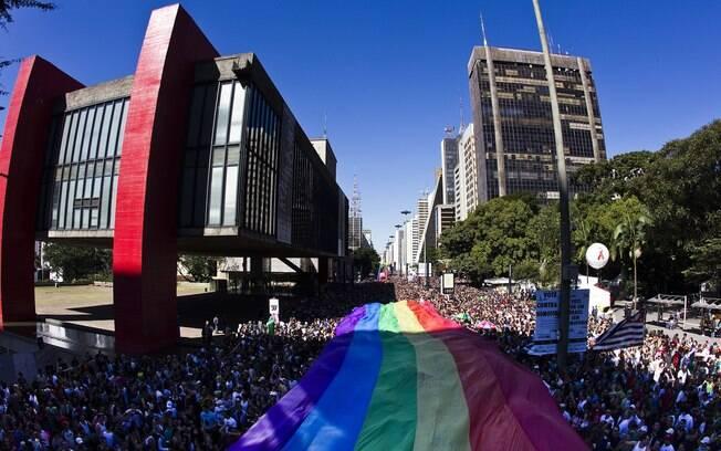 Em 2011, cerca de quatro milhões de pessoas se juntaram na Avenida Paulista