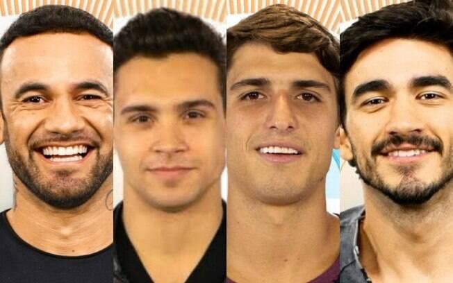 Hadon, Petrix, Felipe e Guilherme