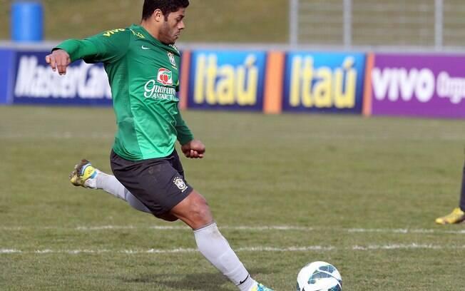 Hulk, da seleção brasileira