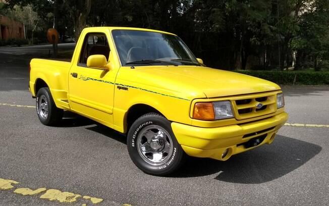 Ford Ranger Splash foi a picape mais chamativa de sua época, ainda mais em tonalidade amarela