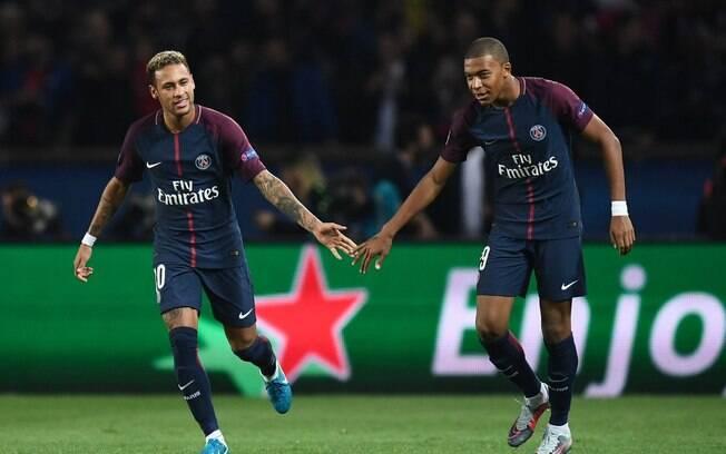 Neymar e Mbappé foram as principais contratações do PSG na última janela de transferências. Clube foi o que mais gastou, segundo a Uefa