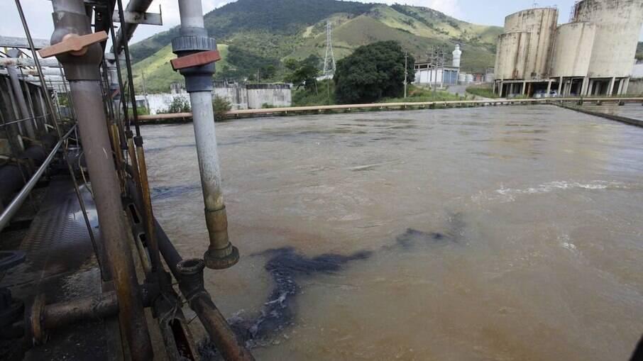 Estação de Tratamento de água do Gandu