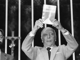 Ulysses Guimarães morreu no dia 12 de outubro de 1992.