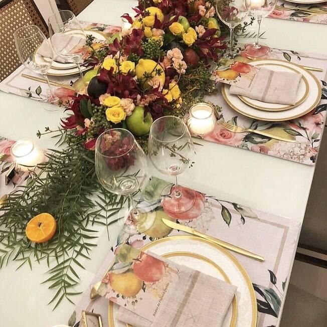mesa posta para Bodas de Casamento