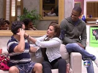 Adrilles recebeua imunidade de Tamires durante o BBB 15