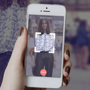 Aplicativo busca imagens de roupas e sapatos fotografados nas ruas