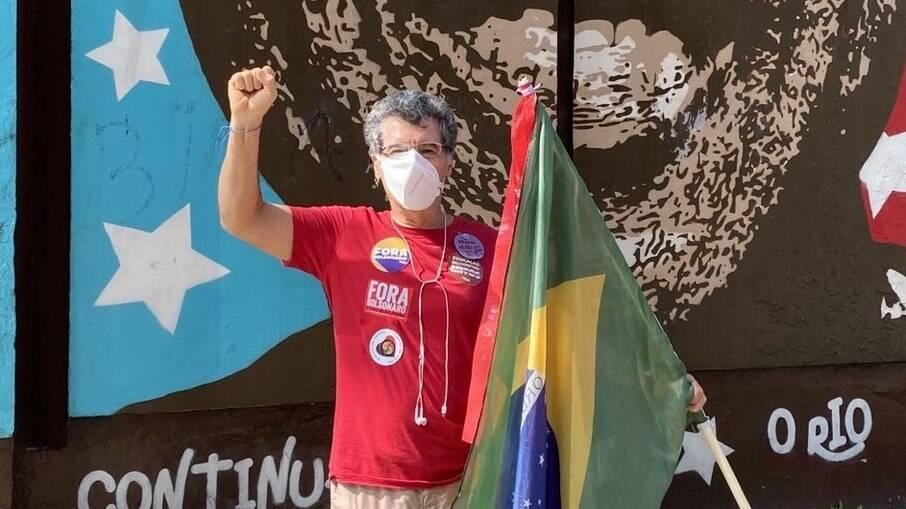 O ator Paulo Netti é presença confirmada em manifestações contra o atual governo do Brasil