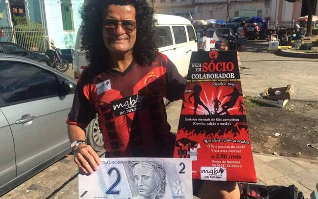 Mauro Shampoo, ex-atacante do Íbis Sport Club