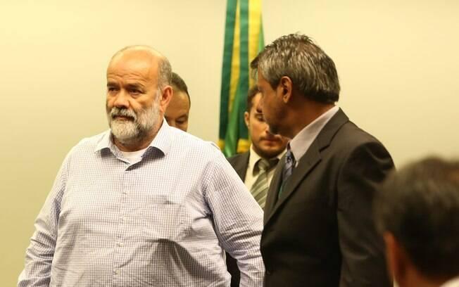 O ex-tesoureiro do Partido dos Trabalhadores (PT) João Vaccari Neto comparece à CPI dos Fundos de Pensão na Câmara