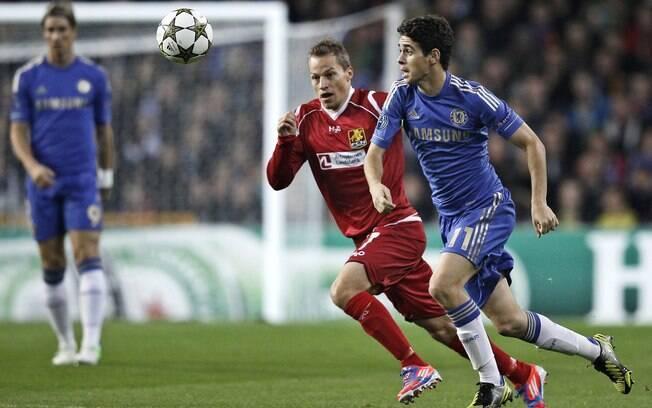 Chelsea goleia Nordsjaelland por 4 a 0 com gols de David Luiz e ... 5581515b49de2