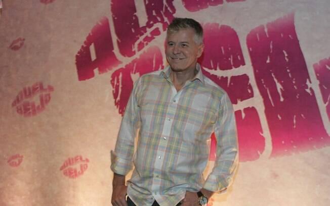 Miguel Falabella: radiante com a estreia de