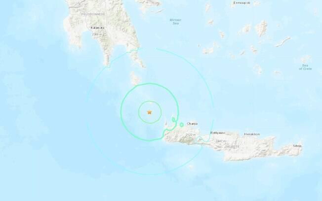 Epicentro do sismo foi a 56km de profundidade, mas ainda pôde ser sentido em alguns locais da Europa