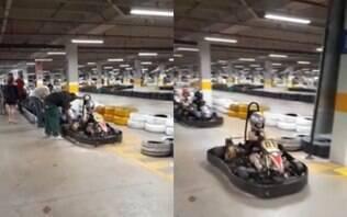 Após acidente que escalpelou jovem, pistas de kart são fechadas