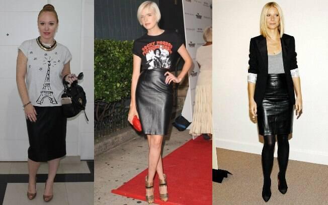 Inspire-se também nas famosas que são super adeptas ás saias, procure alguém com um tipo de corpo parecido com o seu