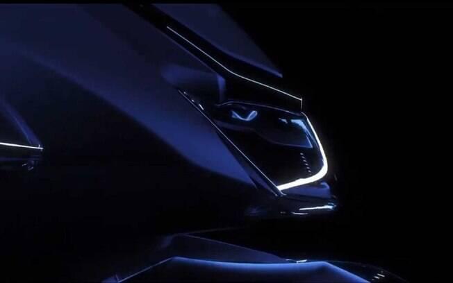 Honda SH 350i: novo scooter tem apenas algumas imagens reveladas, mas já dá para ter ideia de que será um modelo bem arrojado
