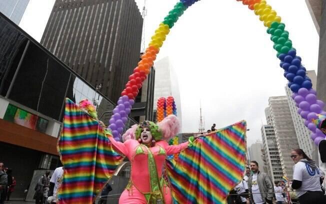 Nesta 23ª edição, a Parada do Orgulho LGBT de São Paulo traz o slogan