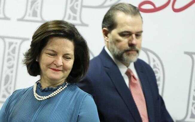 Raquel Dodge e Dias Toffoli se reuniram a portas fechadas nesta segunda-feira; encontro não estava na agenda