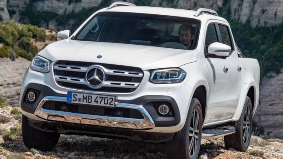 Mercedes-Benz Classe X: confirmada em 2016, fabricante optou por cancelar os planos em 2019