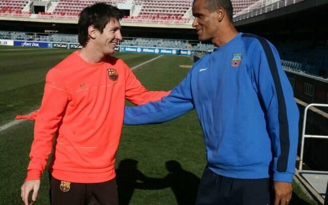 Rivaldo elogia Messi e diz que argentino tem tudo para voltar a ser destaque no futebol